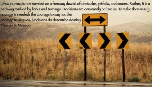 #BOMTC Day 11, April 17~2 Nephi 3-5 or Pages 61-66 (1) Decisions Do Determine Destiny President Thomas S. Monson