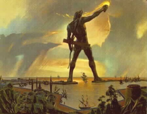 #BOMTC Day 80, June 25~Ether 8-10 or Pages 501-506, Colossus of Rhodes