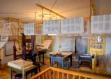 E. B. Grandin Print Shop Interior Printing Press Area