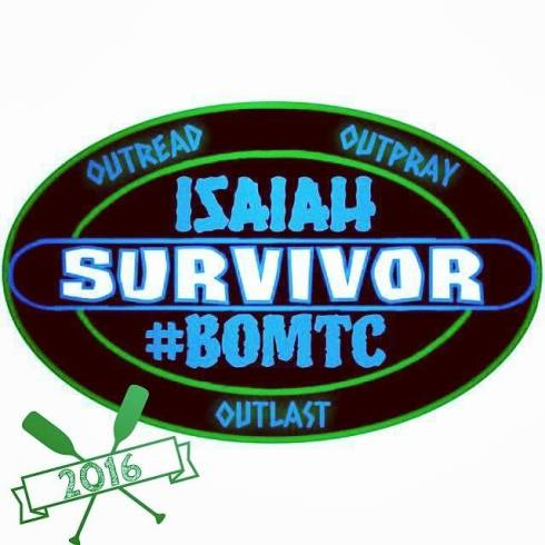 2016 #BOMTC Isaiah Survivor Award! Post it proudly to your social media once you finish 2 Nephi 24