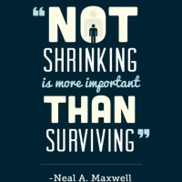 #BOMTC Alma 14-16: Not Shrinking Is Much More Important Than Surviving!